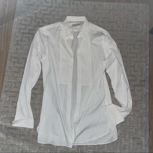 Burberry Mens Formal Tuxedo Shirt